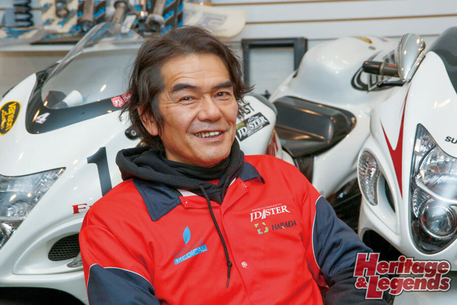 ドラッグレースシリーズ JD-STERインタビュー03