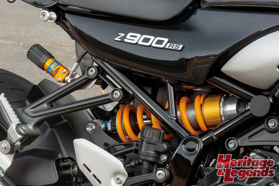 Z900RS with OHLINS試乗インプレッション03