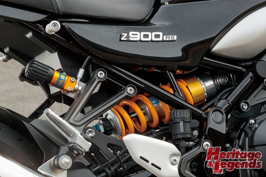 Z900RS with OHLINS試乗インプレッション11