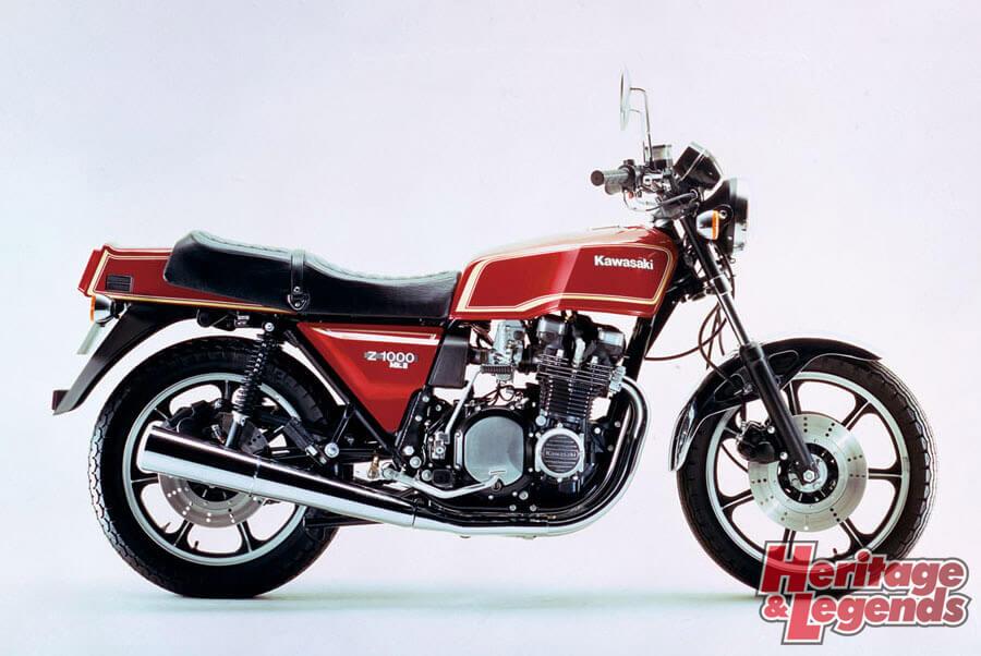 洗練されたカワサキ角Zの歴代モデル04