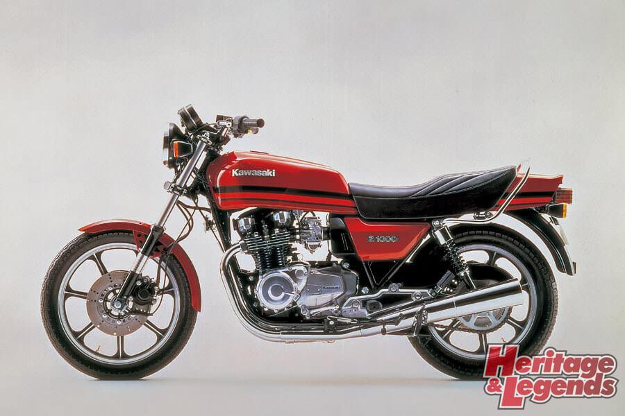 洗練されたカワサキ角Zの歴代モデル07