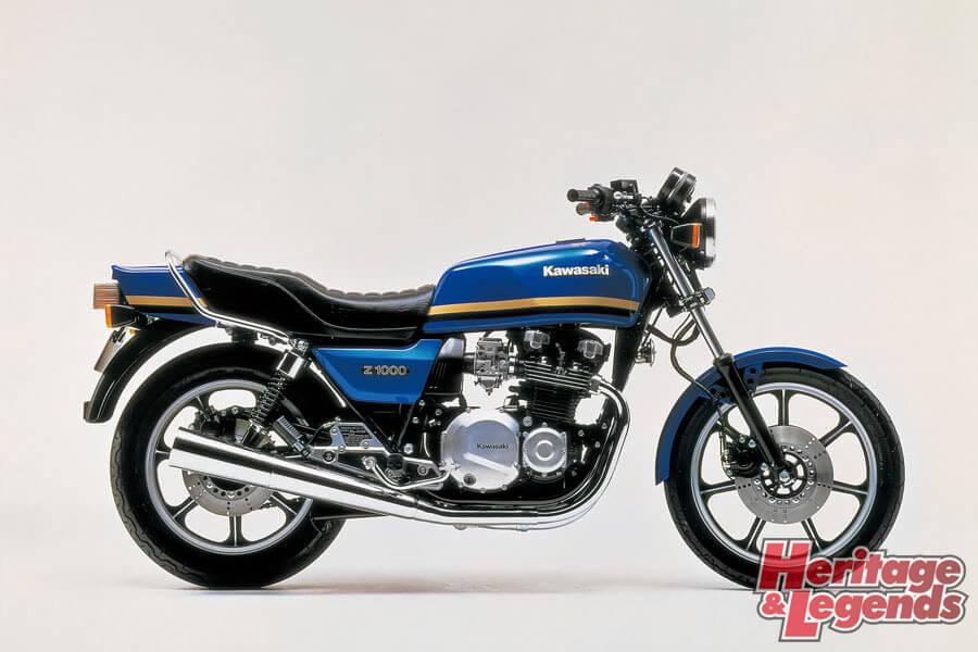 洗練されたカワサキ角Zの歴代モデル09