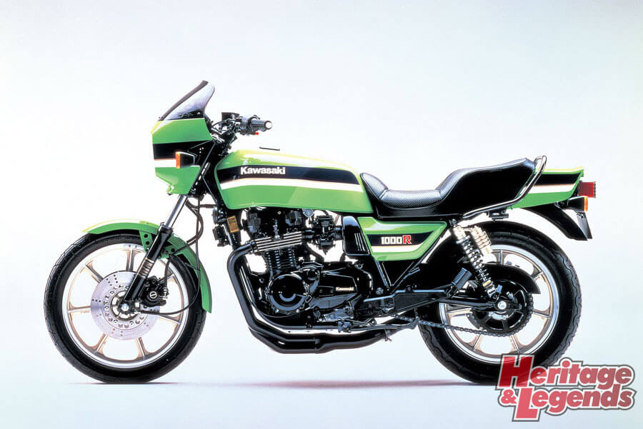 洗練されたカワサキ角Zの歴代モデル13