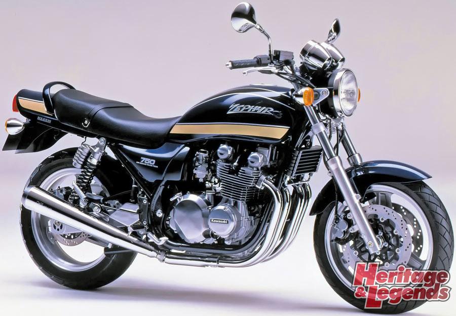 ゼファー1100/750の歴代モデルを紹介04