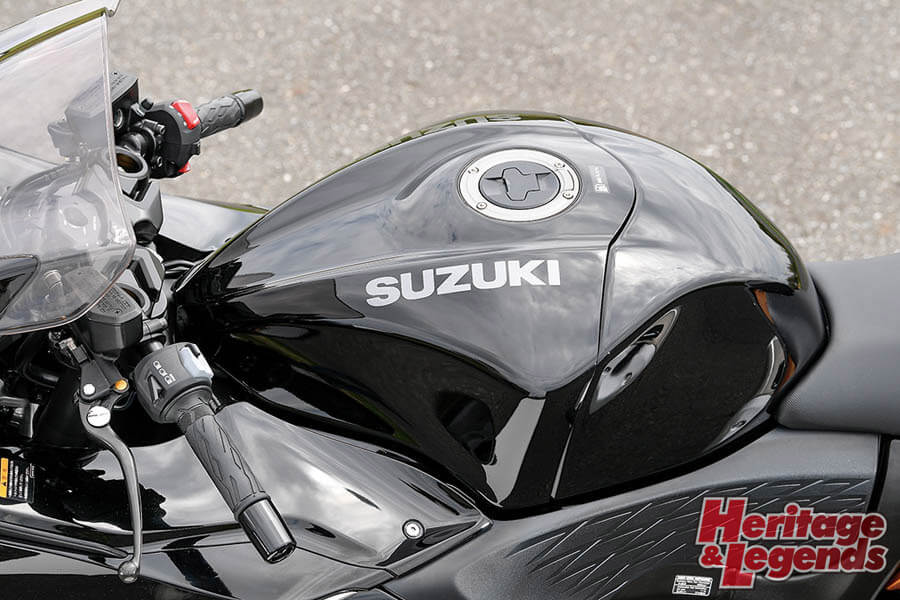 SUZUKI HAYABUSA(2021)試乗インプレ16