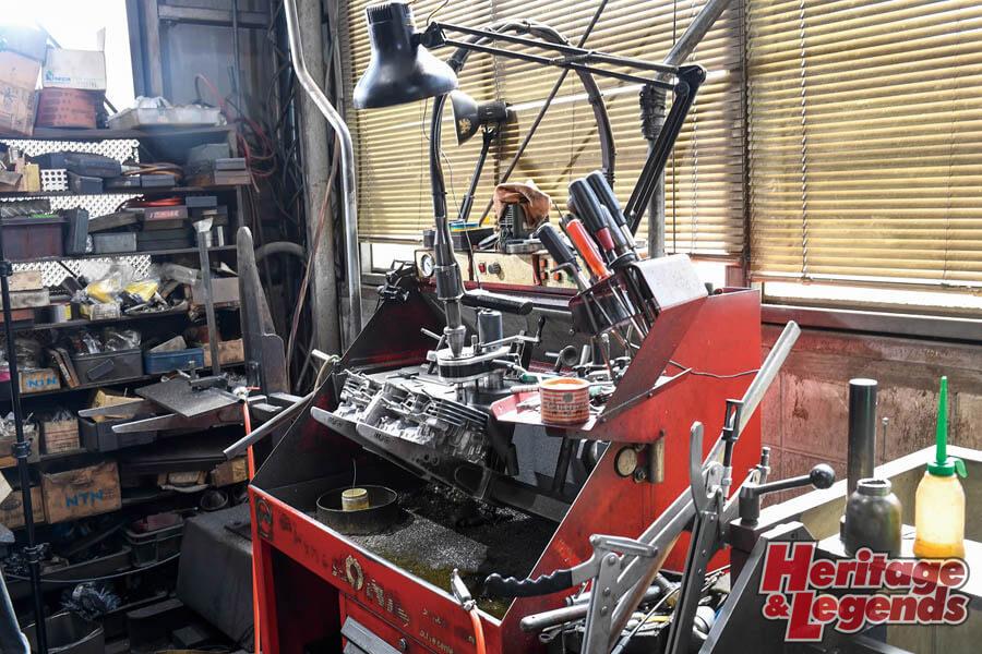 角Zエンジンのアルミ+めっきスリーブと内燃機加工05