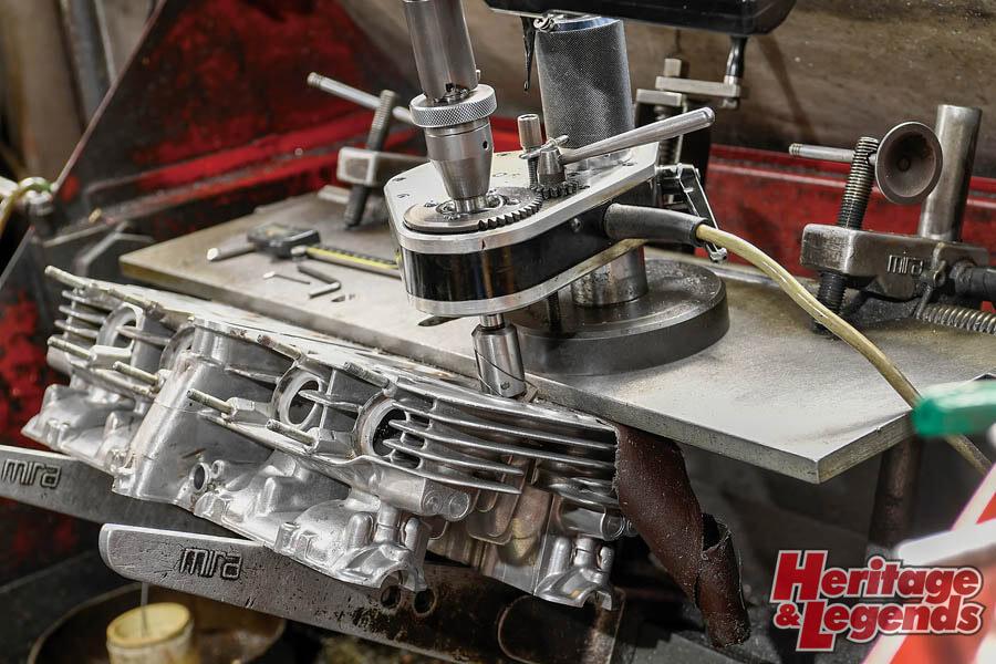 角Zエンジンのアルミ+めっきスリーブと内燃機加工09