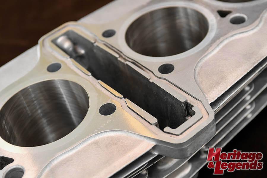角Zエンジンのアルミ+めっきスリーブと内燃機加工10