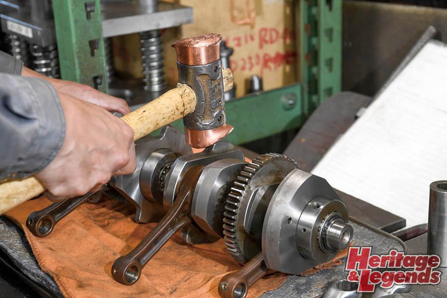 角Zエンジンのアルミ+めっきスリーブと内燃機加工11
