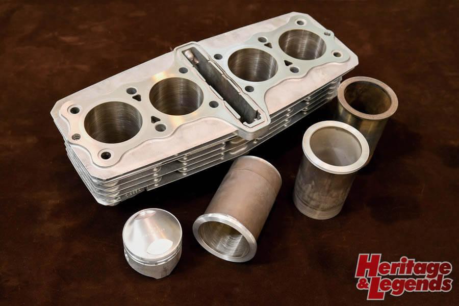 角Zエンジンのアルミ+めっきスリーブと内燃機加工