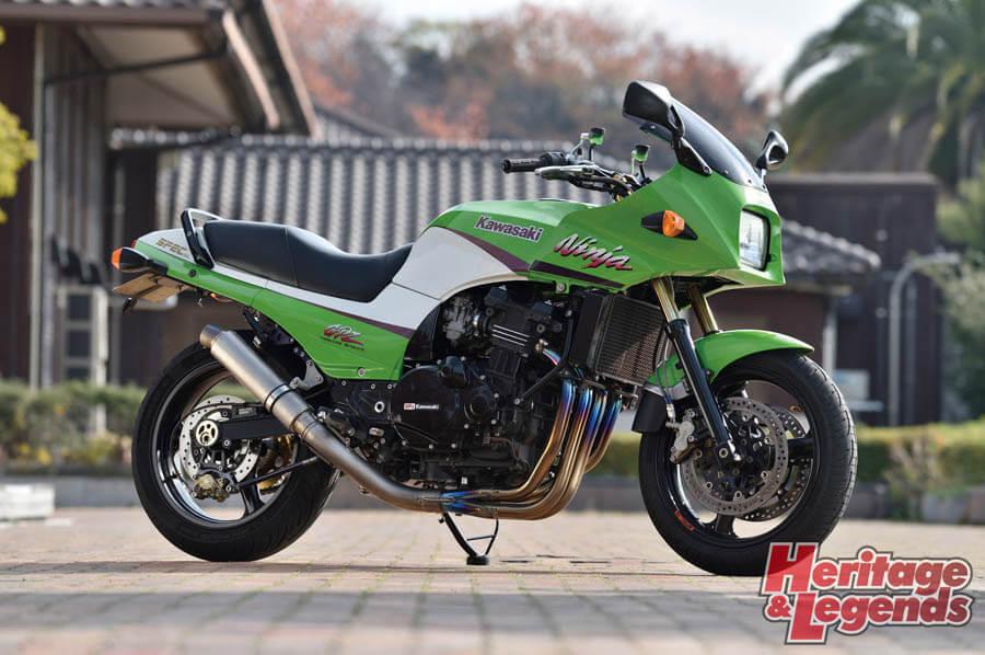 カスタムバイクツーリング! GPZ900Rで瀬戸内海の島々を巡る06