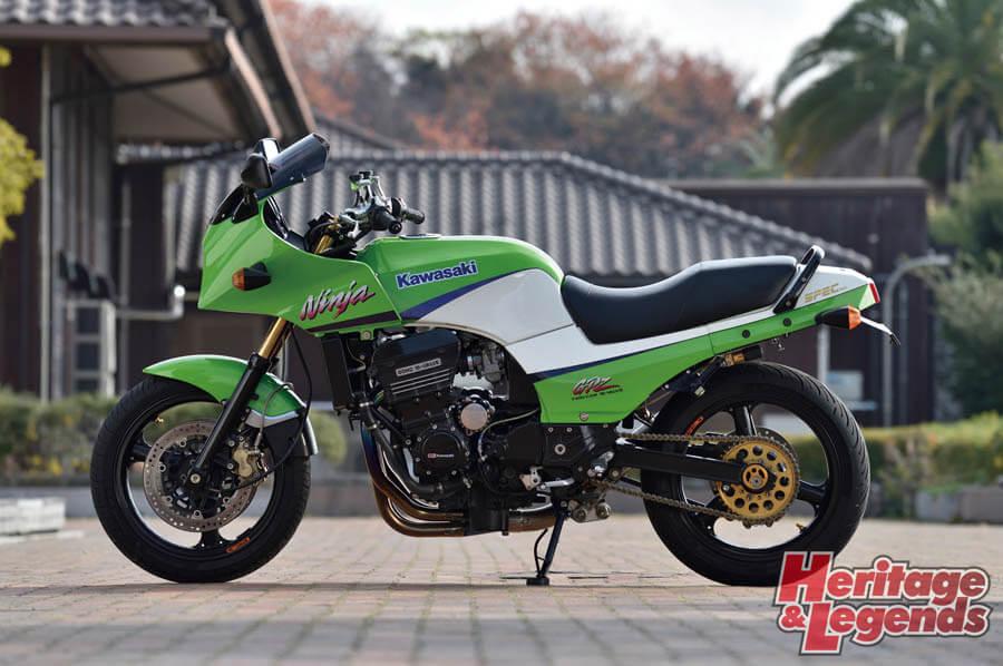 カスタムバイクツーリング! GPZ900Rで瀬戸内海の島々を巡る07