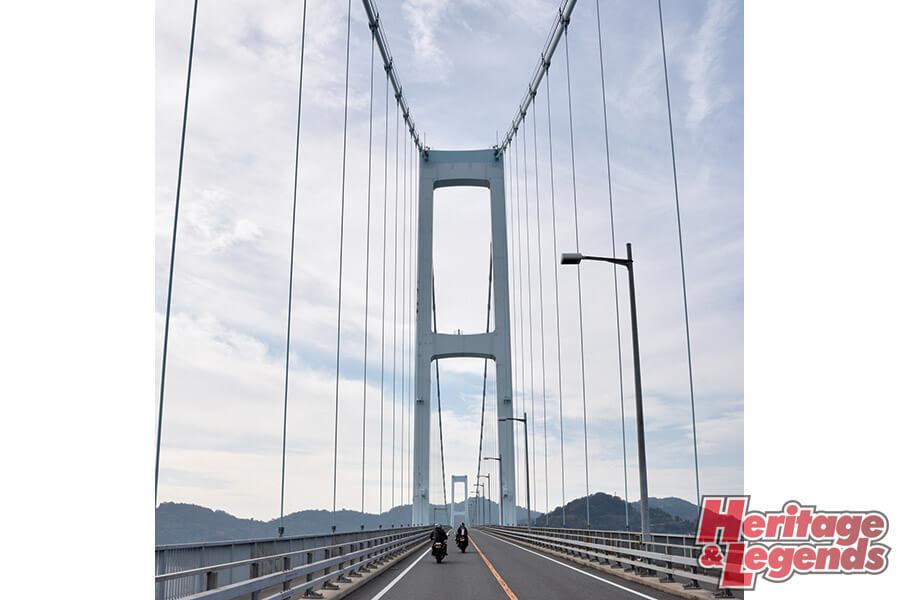 カスタムバイクツーリング! GPZ900Rで瀬戸内海の島々を巡る13