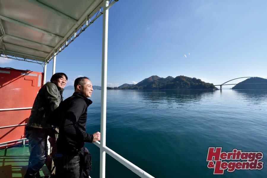 カスタムバイクツーリング! GPZ900Rで瀬戸内海の島々を巡る16