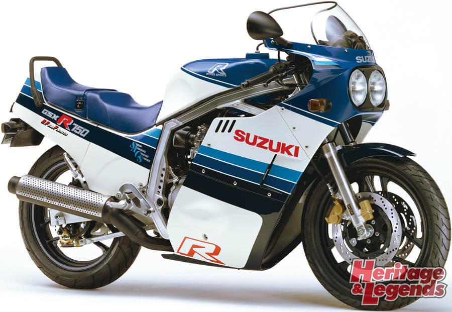 スズキGSX-R750(1985~2019)の歴史02