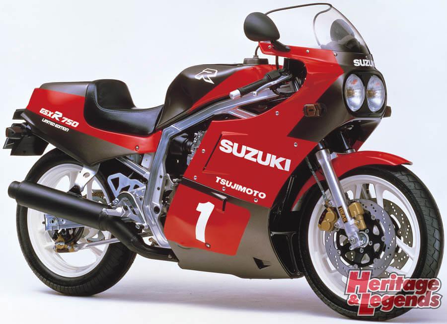 スズキGSX-R750(1985~2019)の歴史03