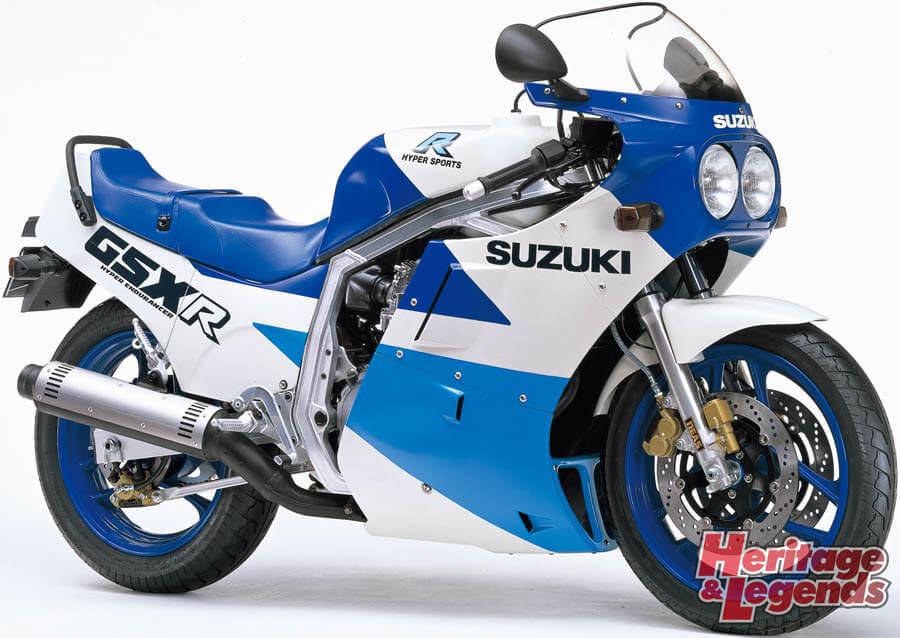 スズキGSX-R750(1985~2019)の歴史05