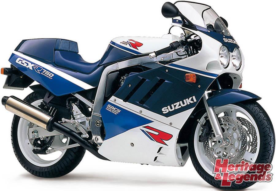 スズキGSX-R750(1985~2019)の歴史07
