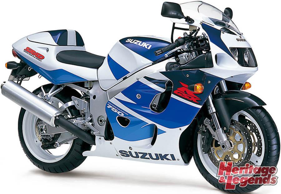 スズキGSX-R750(1985~2019)の歴史16