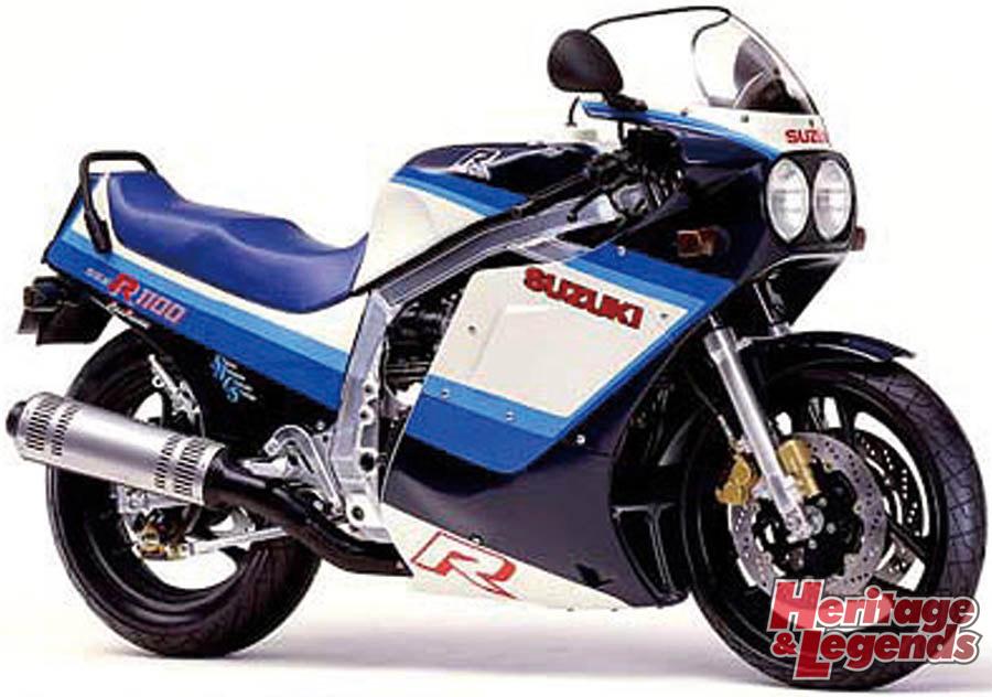 スズキGSX-R1100(1986~1998)の歴史02