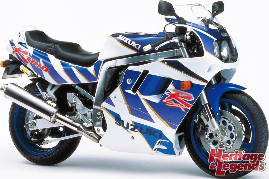 スズキGSX-R1100(1986~1998)の歴史08