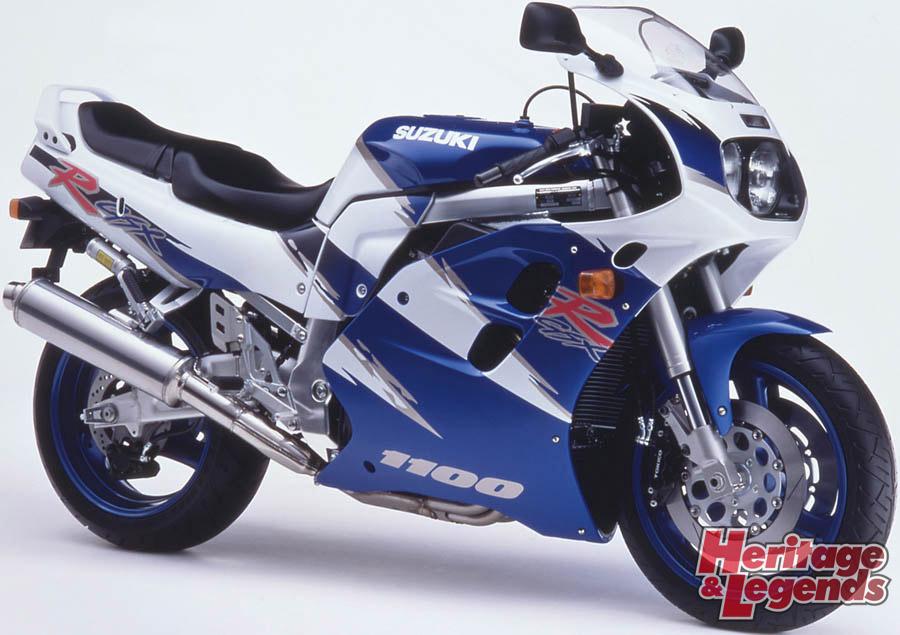 スズキGSX-R1100(1986~1998)の歴史10