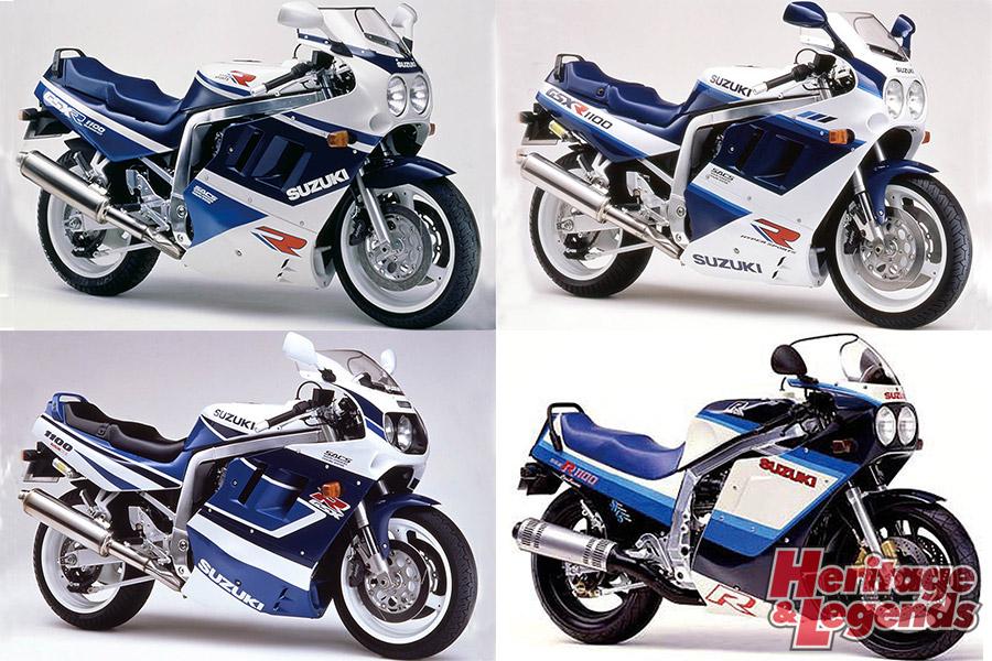 スズキGSX-R1100(1986~1998)の歴史