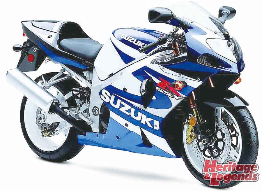 スズキGSX-R1000(2001~2019)の歴史02