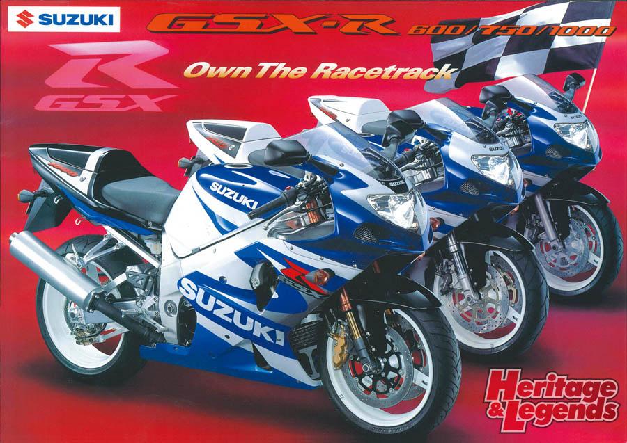 スズキGSX-R1000(2001~2019)の歴史